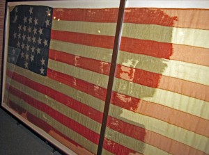 The Storm Flag flown at Fort Sumter
